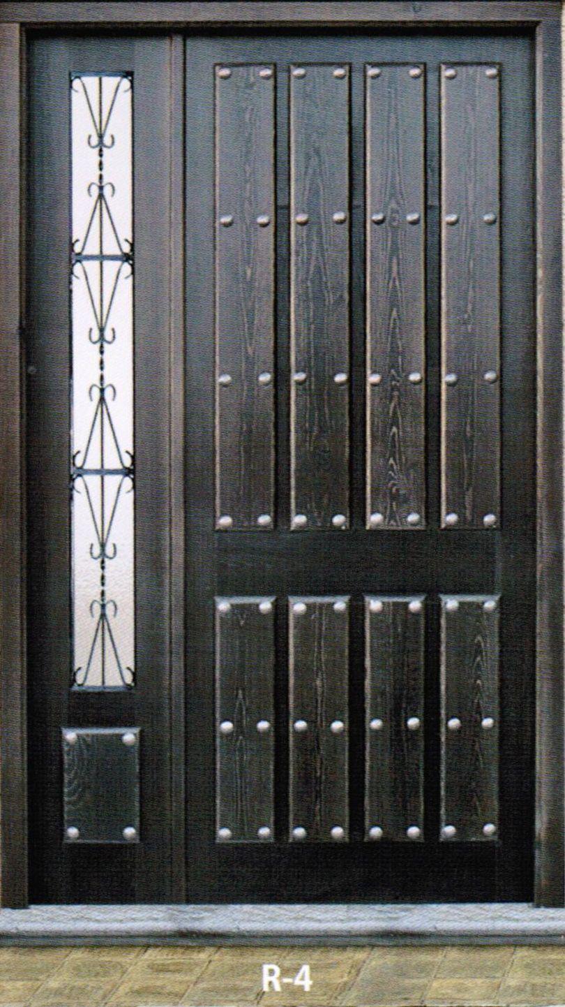 Puertas Exteriores Carpinteria Vicomar - Modelos-de-puertas-rusticas